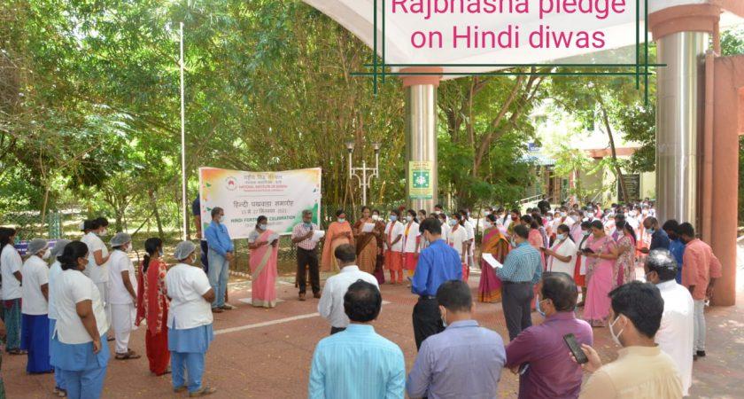 Hindi Fortnight  -2021 Celebration at NIS