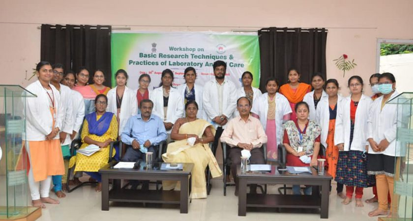 Workshop on Basic Research Techniques and practices of Laboratory Animal Care