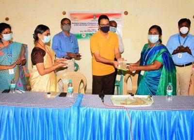 Distribution of AYUSH prophylactic medicines – Azadi Ka Amrit Mahotsav